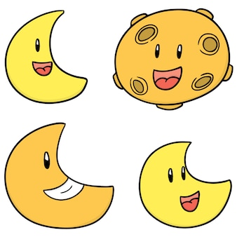 Zestaw księżyca