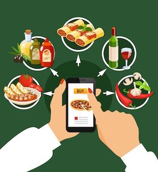Zestaw kuchni włoskiej