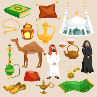 Zestaw kultury arabskiej
