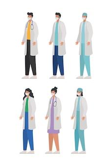 Zestaw lekarzy