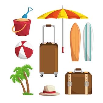 Zestaw letnich wakacji