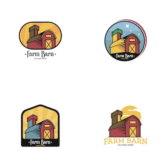 Zestaw logo barn