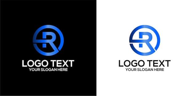 Zestaw logo domu w połączeniu z szablonem projektu litery h premium wektor