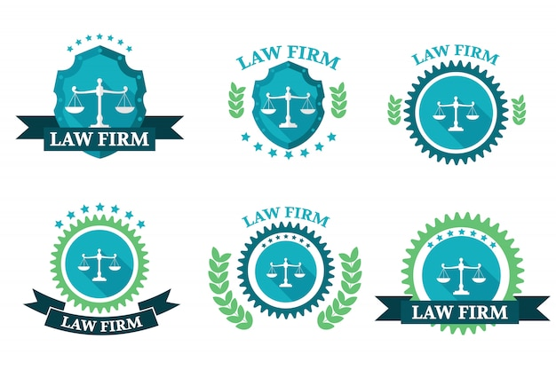 Zestaw logo kancelarii