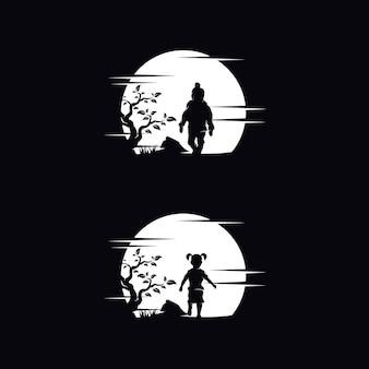 Zestaw logo marzeń dziecka