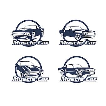Zestaw logo samochodu