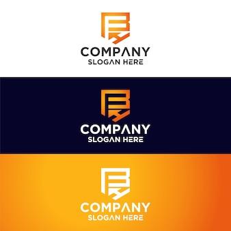 Zestaw logo z monogramem premium