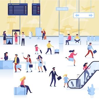 Zestaw lotniskowy. ręka trzyma paszport i bilet