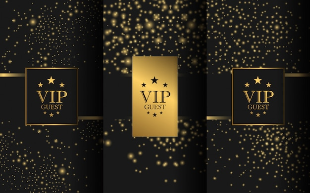Zestaw luksusowego logo