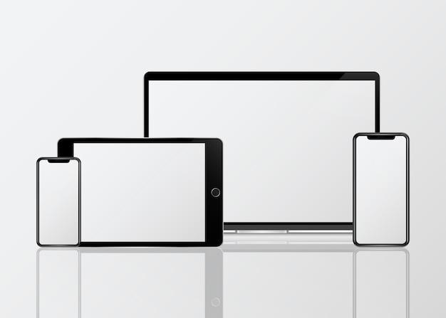 Zestaw makiet cyfrowych urządzeń