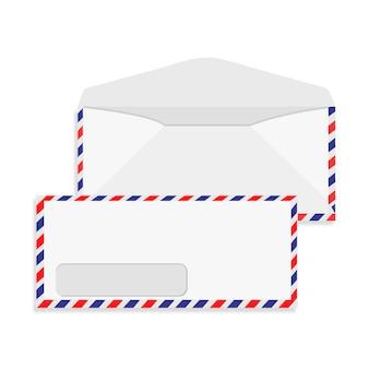 Zestaw makiet w białej kopercie