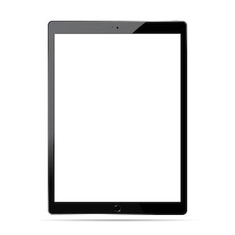 Zestaw makieta komputera typu tablet. ilustracja urządzenia mobilnego.