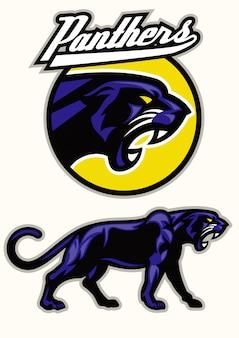 Zestaw maskotki czarna pantera
