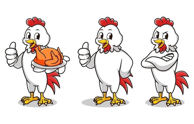 Zestaw maskotki kurczaka