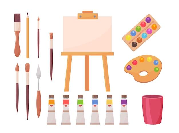 Zestaw materiałów rysunkowych
