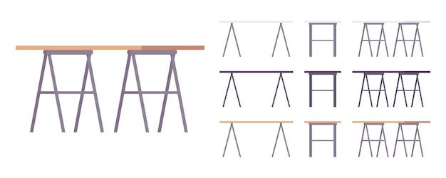 Zestaw mebli stołowych