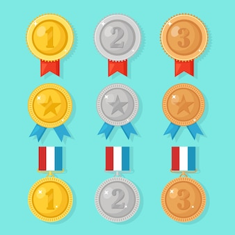 Zestaw medali