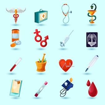 Zestaw medyczny ikona