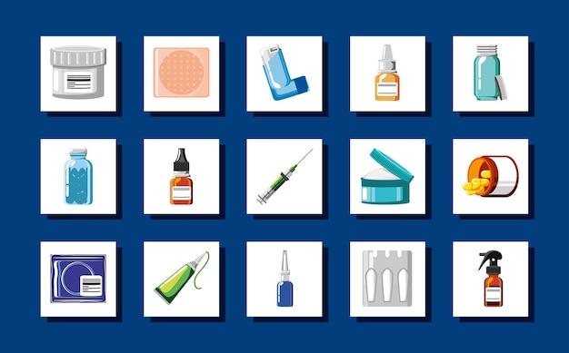 Zestaw medyczny na receptę apteki