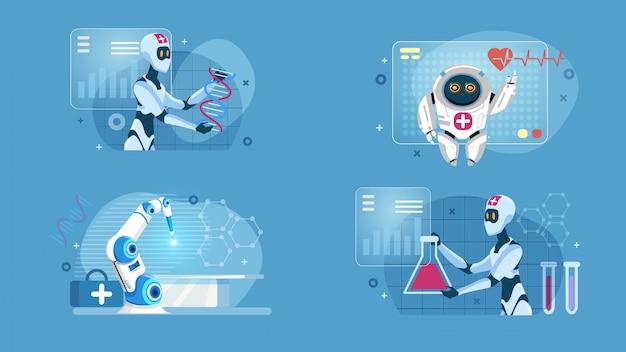 Zestaw medyczny smart robotic artificial intelligence