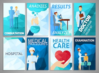 Zestaw medyczny ulotki