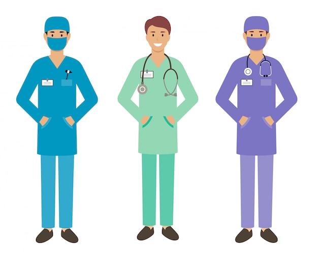 Zestaw męski lekarz