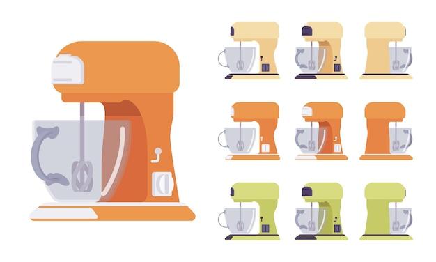 Zestaw mikserów, wyposażenie kuchni i kawiarni