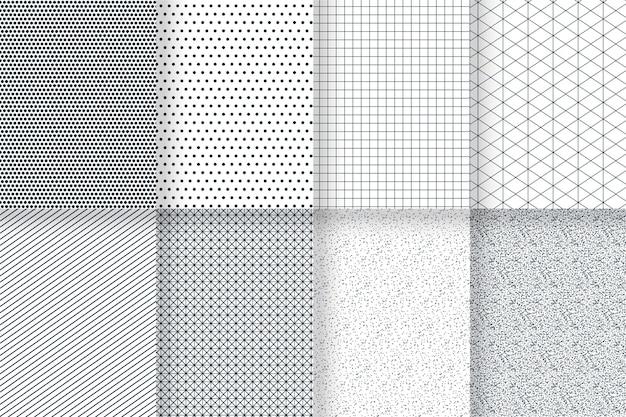 Zestaw minimalny wzór geometryczny