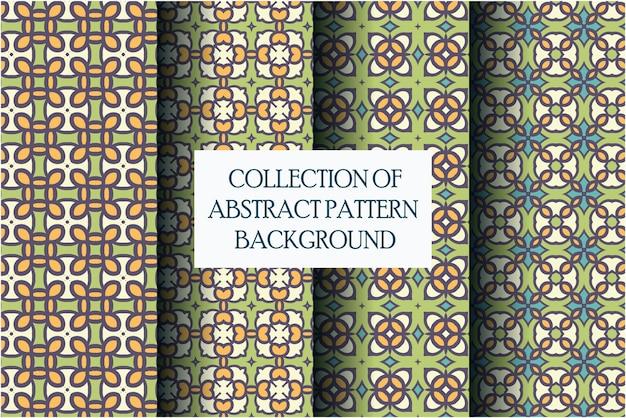 Zestaw motywu abstrakcyjny wzór