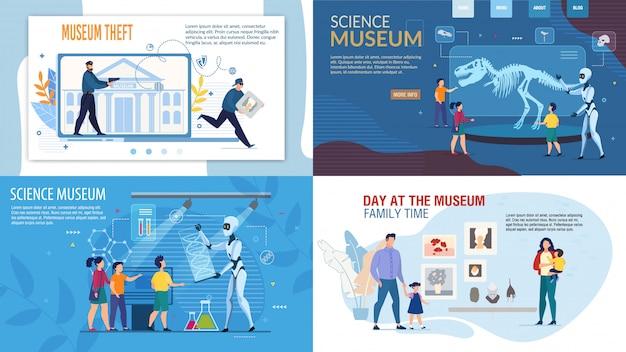 Zestaw muzeum nauki, bezpieczeństwa i kradzieży