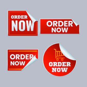 Zestaw naklejek na zamówienie