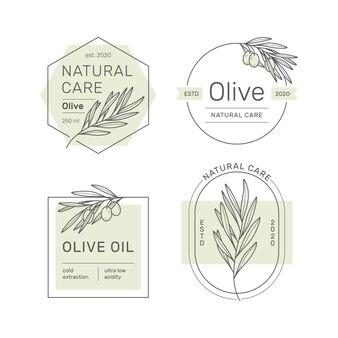 Zestaw naklejek, pieczątek, przywieszek na oliwę, mydło, kosmetyki i inne.