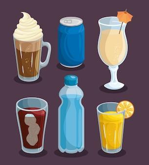 Zestaw napojów