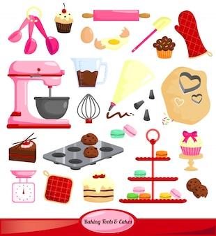 Zestaw narzędzi do pieczenia