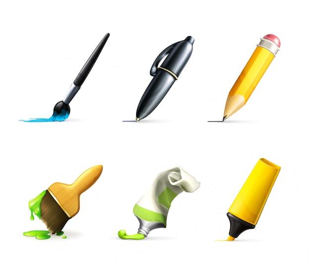 Zestaw narzędzi do pisania