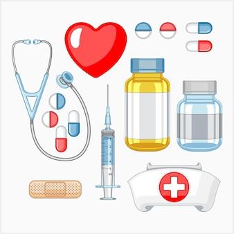 Zestaw narzędzi pielęgniarskich