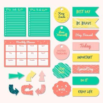 Zestaw notatników organizatora