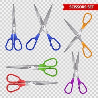 Zestaw nożyczek szkolnych