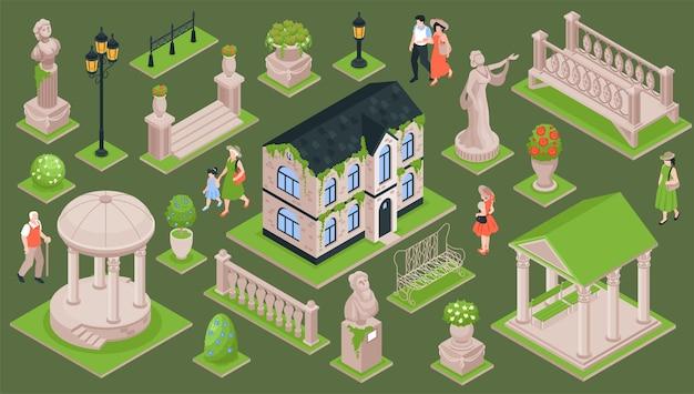 Zestaw ogrodowy dom wiejski