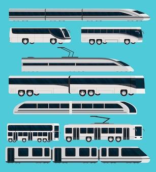 Zestaw ortogonalny transportu publicznego