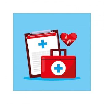 Zestaw pierwszej pomocy medycznej, dzień zdrowia