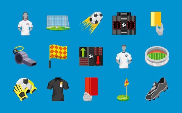 Zestaw piłki nożnej