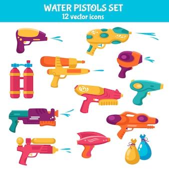Zestaw pistoletów na wodę