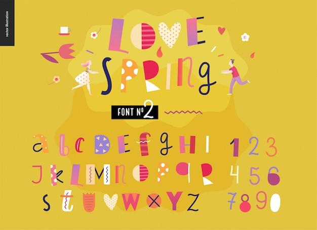 Zestaw płaski alfabet dla dzieci