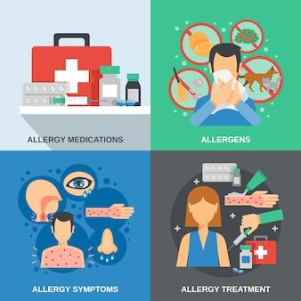 Zestaw płaski dla alergików
