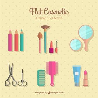 Zestaw płaskich wyrobów kosmetycznych