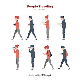 Zestaw podróżny wyciągnąć rękę