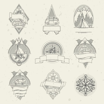 Zestaw podróży logo