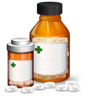 Zestaw pojemników medycznych i medicene