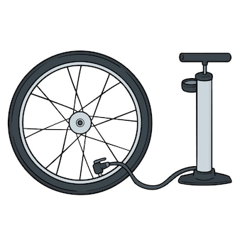 Zestaw pompy rowerowej